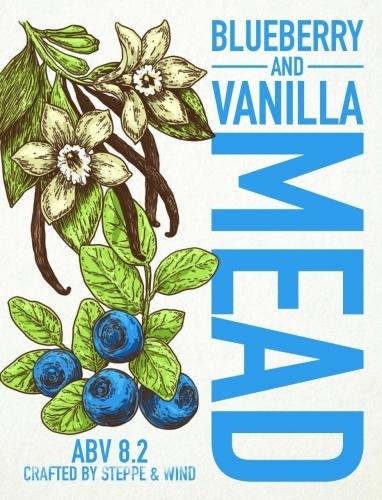 Blueberry & Vanilla Mead 8,2% (Spb Edition)