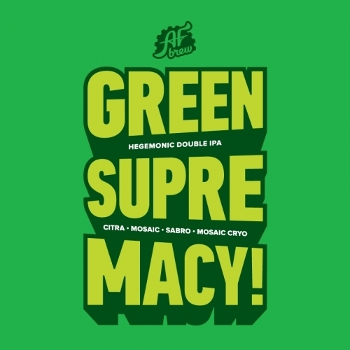 Green Supremacy!