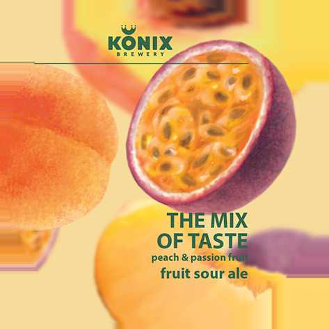 The Mix of Taste Peach & Passion Fruit