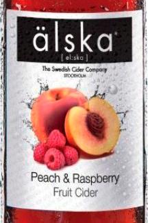 Peach & Raspberry / Персик и малина