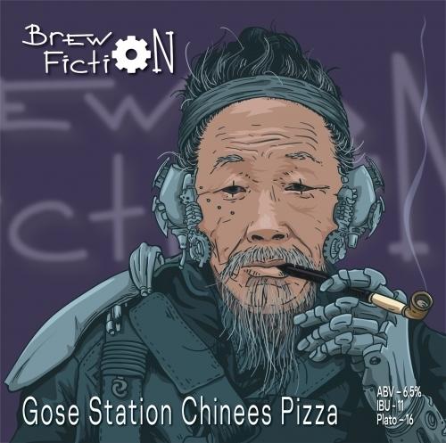 Gose Station: Chinese Pizza