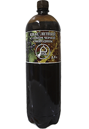 Квас «Летний » с соком черной смородины